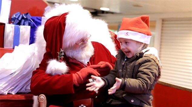 ông già Noel, Giáng sinh, người khuyết tật, người khiếm thính, Santa, cây thông Noel