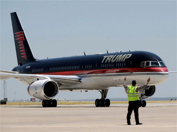 máy bay, Donald Trump, ứng viên TT Mỹ, Trump không lực 1