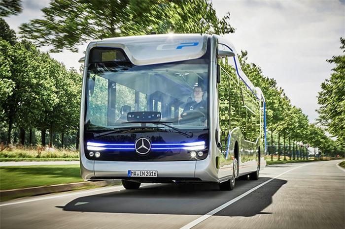 Ra mắt xe buýt đô thị tự lái Mercedes-Benz Future Bus - ảnh 2