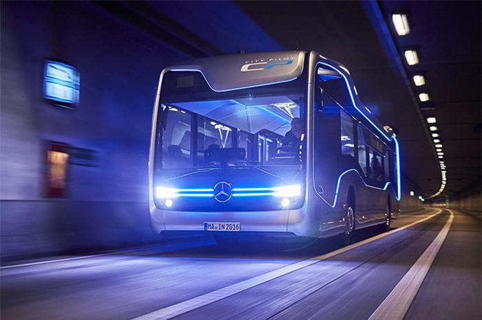 Ra mắt xe buýt đô thị tự lái Mercedes-Benz Future Bus - ảnh 3