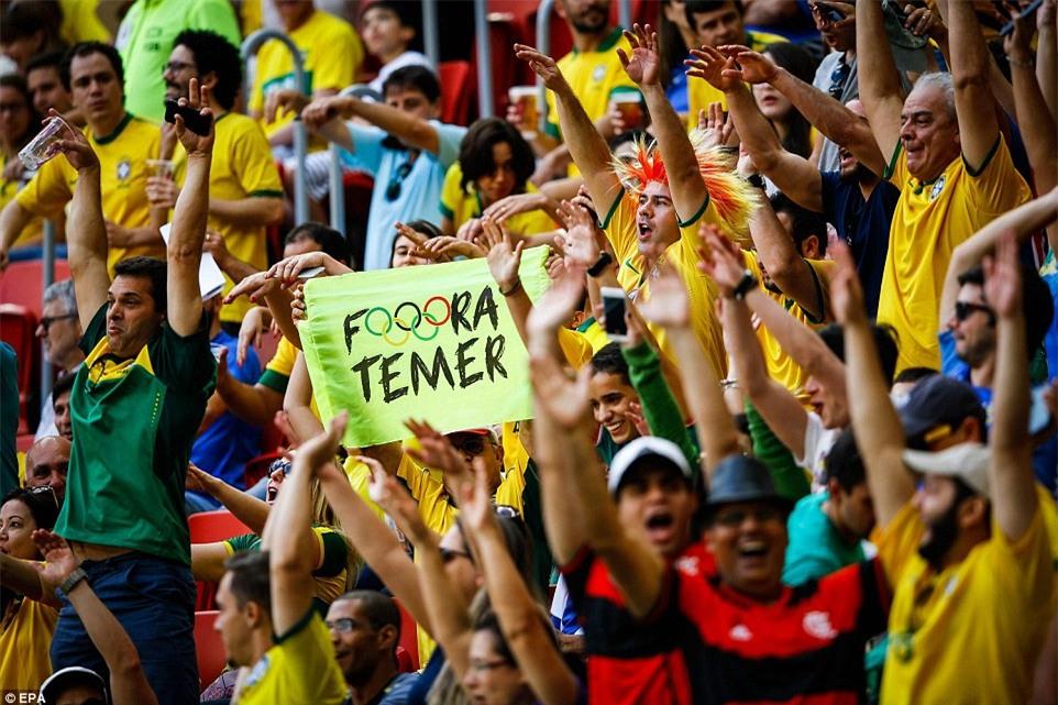 U23 Brazil vs U23 Nam Phi, bóng đá nam olympic