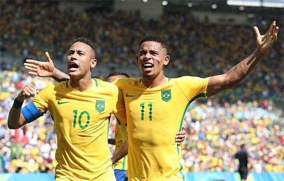 U23 Brazil, U23 Honduras, Olympic 2016, bóng đá nam Olympic 2016