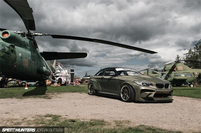 """""""Chiến đấu cơ"""" BMW F22 Eurofighter 820 mã lực của dân drift Latvia - ảnh 15"""