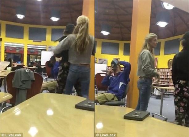 Không thích nhạc chuông điện thoại của bạn, nữ sinh trung học lao vào đánh nam sinh cùng lớp tới tấp - Ảnh 4.