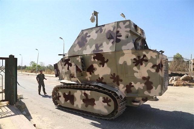 Xem xe bọc thép tự chế siêu dị của ISIS tại Iraq ảnh 4