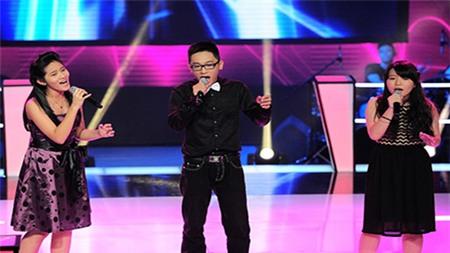 The Voice Kids Tập 6: Lan Hương, Quỳnh Như, Thanh Tuấn hát
