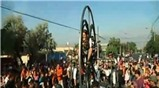 Lạ mắt với lễ hội đường phố quốc tế Tây Ban Nha