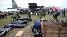 Indonesia thành lập trung tâm nhận dạng nạn nhân vụ tai nạn máy bay QZ8501