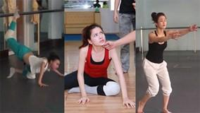 Buổi luyện tập mướt mồ hôi của các mỹ nhân Bước nhảy hoàn vũ