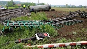 Tai nạn tàu hỏa tại Đức, hơn 20 người thương vong
