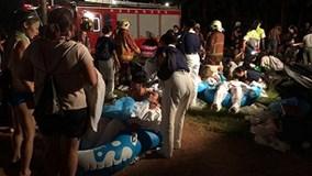Đài Loan: Nổ lớn tại công viên nước, gần 500 người bị thương