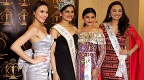 Lệ Quyên vào top 3 trang phục dạ hội Hoa hậu siêu quốc gia 2015
