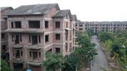 Hà Nội: Hoang lạnh khu đô thị với hàng trăm biệt thự tiền tỉ bỏ hoang