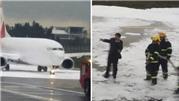 Trung Quốc: Chữa cháy nhầm máy bay, thiệt hại hơn 20 triệu USD