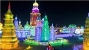 Kỳ thú lễ hội băng đăng hoành tráng nhất thế giới