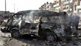 Hiện trường vụ IS đánh bom kép ở Homs, 120 người thương vong