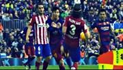 Messi suýt tàn sự nghiệp sau pha vào bóng của sao Atletico