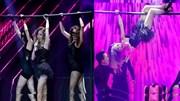 The Remix 2016 - tập 5: Hương Tràm hóa thân thành vũ nữ đu xà trên sân khấu