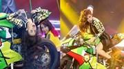 """The Remix 2016 - tập 5: Hoàng Thùy Linh """"bốc lửa"""", đem mô-tô """"khủng"""" lên sân khấu"""