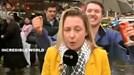 Nữ phóng viên bị sàm sỡ khi đang lên sóng trực tiếp