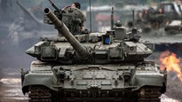 Siêu tăng T-90 của Nga tung hoành trên chiến trường Syria