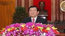 Chủ tịch nước Trương Tấn Sang chúc Tết Bính Thân 2016 đồng bào cả nước