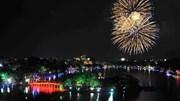 Thủ đô Hà Nội tưng bừng đón năm mới Bính Thân