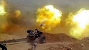 """Màn bắn phá dữ dội của liên quân Syria """"dọn"""" sạch sẽ IS"""