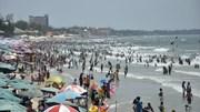 Vũng Tàu đông nghịt du khách, các bãi biển quá tải