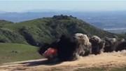Choáng với màn phá bãi mìn bằng dây chứa 800kg thuốc nổ của lính Mỹ