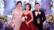 Sao Việt sang chảnh đi dự đám cưới Đinh Ngọc Diệp - Victor Vũ