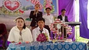 Sự thật về đám cưới 'cô dâu già và nặng gấp đôi chú rể' ở Nghệ An