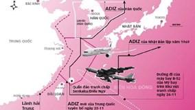 Mỹ không công nhận vùng nhận dạng phòng không của Trung Quốc ở Biển Đông