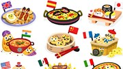 Vòng quanh thế giới, ăn được gì chỉ với 22 nghìn VND?