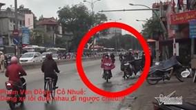 Xử lý vi phạm giao thông... cũng có lúc cảnh sát giao thông phải bó tay