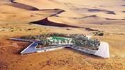 """Ả Rập xây resort """"Ốc đảo"""" sang trọng bậc nhất giữa sa mạc khô cằn"""