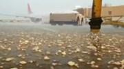 Hàng loạt chuyến bay ở Mỹ bị hoãn, hủy do mưa đá
