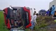 Lật xe khách, bé 3 tuổi thiệt mạng, 10 người bị thương