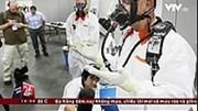 Hít phải hơi phóng xạ, 20 công nhân nhập viện