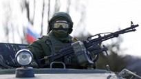 Xem đặc nhiệm Nga diễn tập chiến đấu với súng máy tối tân PKM