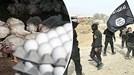 Hết tiền, phiến quân IS ra chợ bán trứng gà giá rẻ
