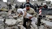 Cận cảnh một vụ nổ bom kinh hoàng tại Aleppo, Syria
