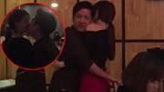 Lộ clip Trường Giang - Nhã Phương ôm hôn nhau mùi mẫn trong quán ăn