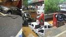 Hố tử thần nuốt chửng hàng loạt xe hơi trên phố
