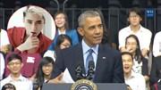Tổng thống Obama bất ngờ nhắc tới Sơn Tùng MTP