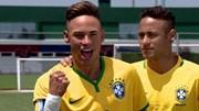 Ngắm bản sao giống như giọt nước của Neymar