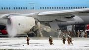 Máy bay chở hơn 300 người bốc cháy tại Tokyo
