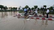 Sau mưa lớn 3 ngày, chung cư vẫn bị nước bao vây