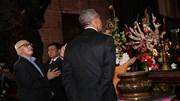 Chùa Ngọc Hoàng tấp nập khách sau ngày Tổng thống Obama viếng thăm