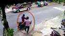 Clip đạo tặc chạy vào quán giật túi xách của phụ nữ ở Đà Nẵng